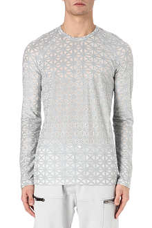 GARETH PUGH Cross embroidered top