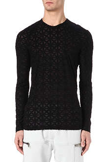 GARETH PUGH Cross jersey top