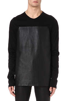 GARETH PUGH Leather panel top