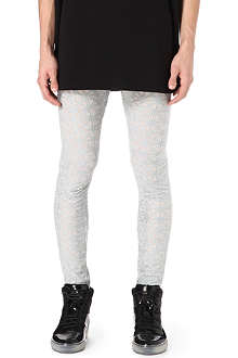 GARETH PUGH Embroidered cross leggings