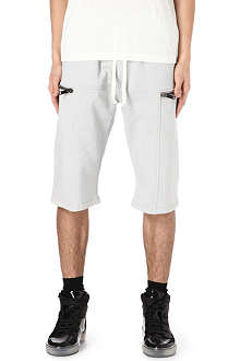 GARETH PUGH Zip sweat shorts