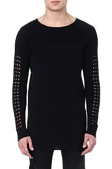 GARETH PUGH Silk sleeve-detail top
