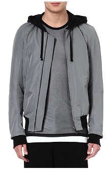 GARETH PUGH Hooded bomber jacket