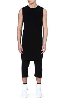 RICK OWENS Extended panel tank top