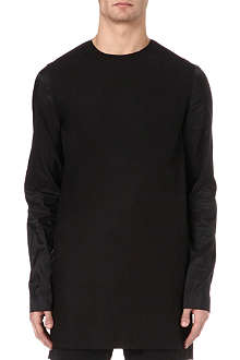 RICK OWENS Oversized cotton top