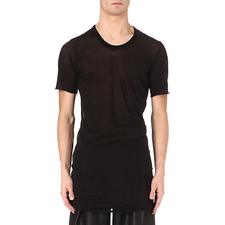 RICK OWENS Crew-neck t-shirt (Black