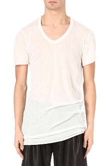 RICK OWENS V-neck t-shirt
