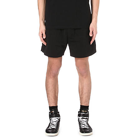 RICK OWENS Wide-leg shorts (Black