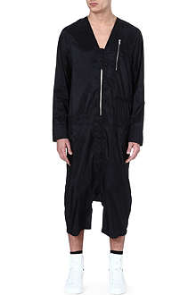 RICK OWENS Zipped dropped crotch jumpsuit
