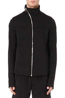RICK OWENS Funnel neck zip jacket