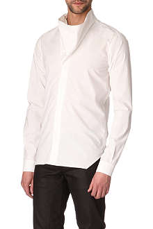 RICK OWENS Funnel-neck single-cuff shirt