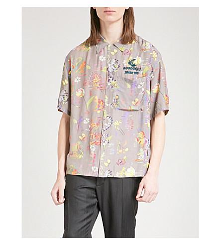 ANGLOMANIA Havana Cubana printed woven shirt (Multicolour