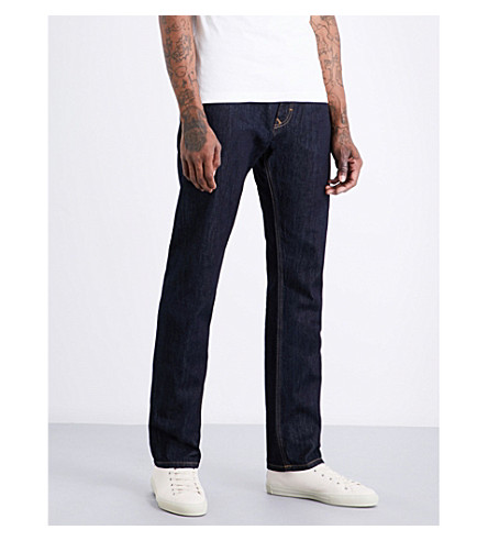 ANGLOMANIA Harris relaxed-fit straight jeans (Blue