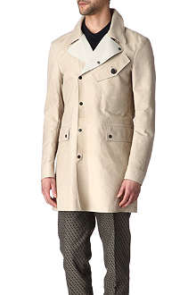 BELSTAFF Edington leather trench coat
