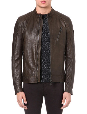 BELSTAFF Kirkham leather jacket