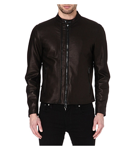 BELSTAFF Holbrook nappa leather jacket (Black