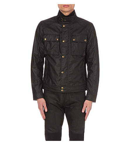 BELSTAFF Racemaster waxed-cotton jacket (Black