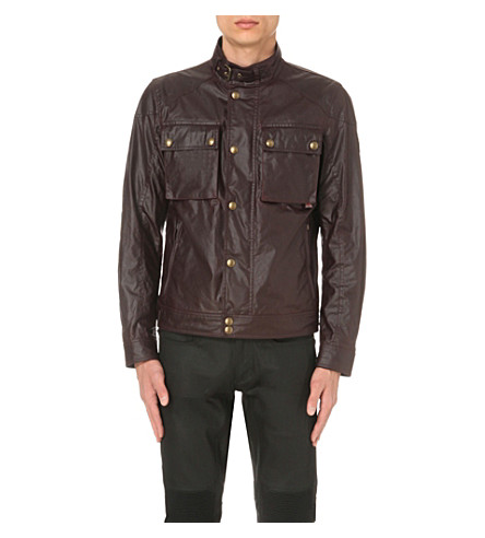 BELSTAFF Racemaster waxed-cotton jacket (Rosewood