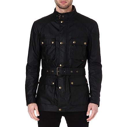 BELSTAFF Roadmaster waxed-cotton jacket (Black