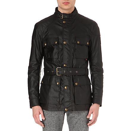 BELSTAFF Roadmaster waxed-cotton jacket (Bracken