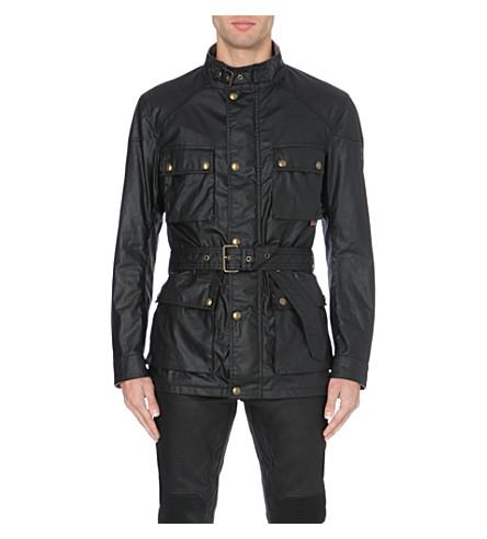 BELSTAFF Roadmaster waxed-cotton jacket (Black