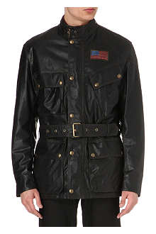 BELSTAFF Icon waxed-cotton racing jacket