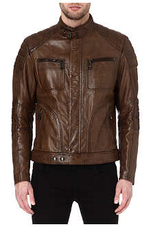 BELSTAFF Weybridge hand-waxed leather jacket