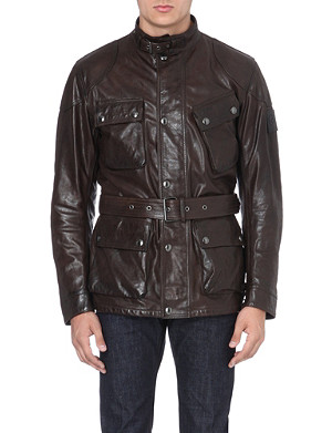 BELSTAFF Panther hand-waxed leather jacket