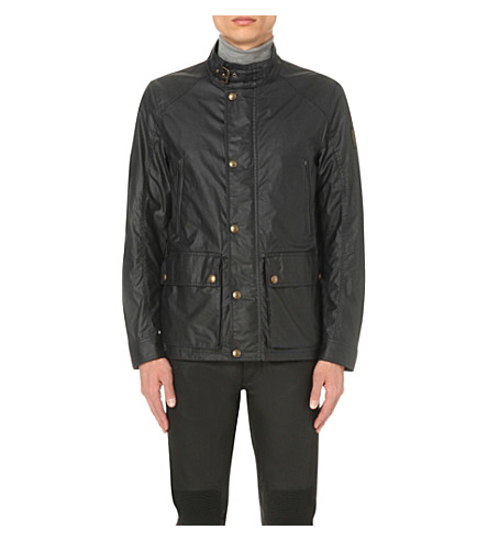 BELSTAFF Tourmaster waxed-cotton jacket (Dark+navy