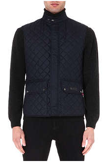 BELSTAFF Quilted sleeveless gilet