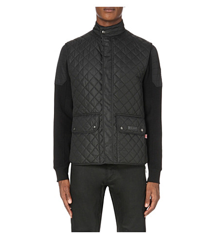BELSTAFF Quilted shell gilet (Black