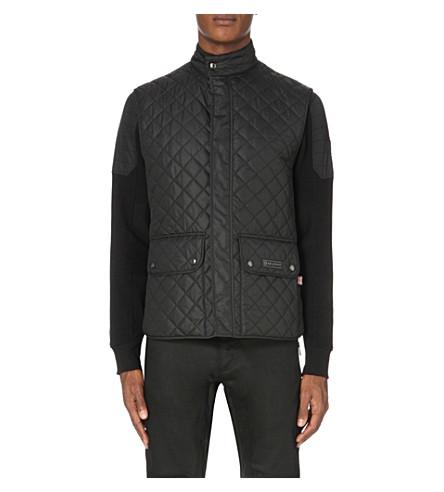 BELSTAFF Quilted shell vest (Black