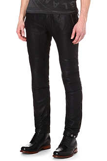 BELSTAFF Telford leather biker trousers