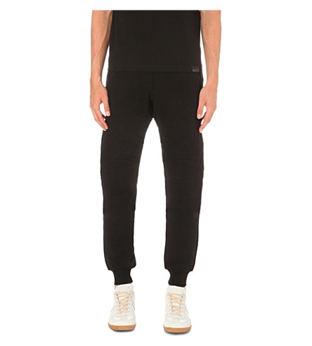 ... BELSTAFF Ashdown cotton-jersey jogging bottoms (Black. PreviousNext
