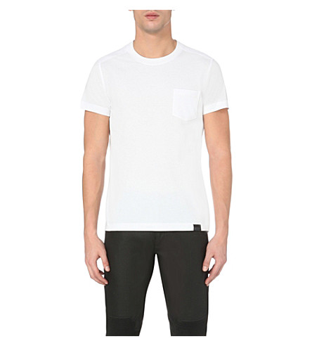 BELSTAFF Thom cotton-jersey t-shirt (White