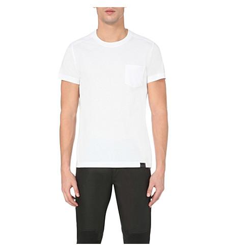 BELSTAFF Thom cotton-jersey t-shirt (White