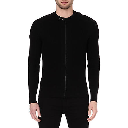 BELSTAFF Cranfield zip cardigan (Black