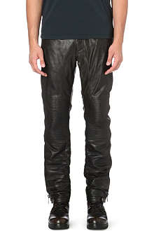 BELSTAFF Telford leather trousers