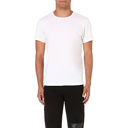BELSTAFF Fitted cotton t-shirt (White