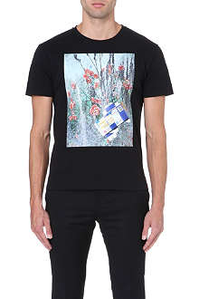 RAF SIMONS Medicine floral-print t-shirt