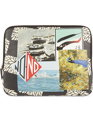 RAF SIMONS Printed tablet case