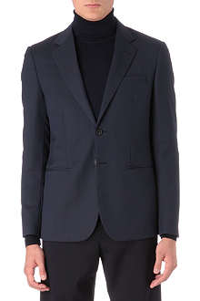 RAF SIMONS Notch lapel single-breasted blazer