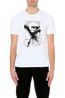 UNDERCOVER Teddy-print cotton-jersey t-shirt