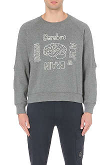 UNDERCOVER Brain print graphic sweatshirt