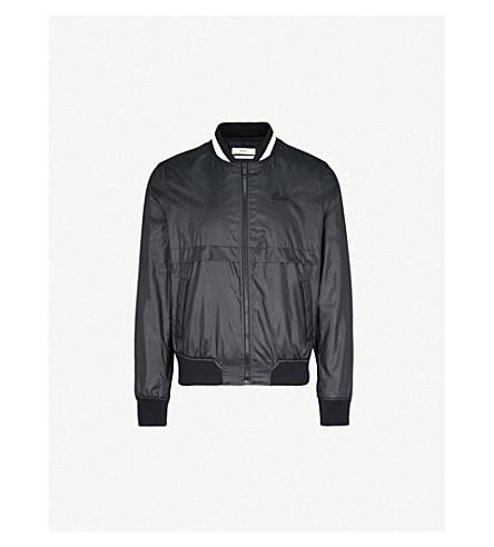 BALLY Layered shell bomber jacket (Black
