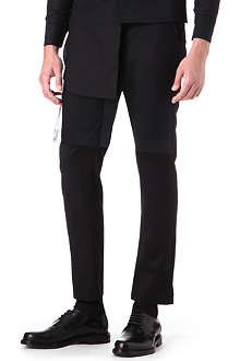 ALAN TAYLOR Slim-fit cropped trousers