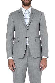 THOM BROWNE Herringbone two-button wool jacket