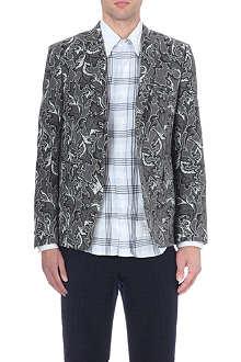 THOM BROWNE Leaf-print blazer
