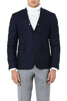 THOM BROWNE Quilted-sleeve blazer
