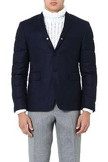 THOM BROWNE Quilted-sleeve blazer